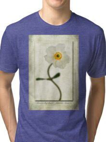 Japanese Anemone Tri-blend T-Shirt