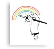 Everyone likes rain #2 Canvas Print