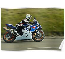 Gixxer L knee sliders Poster