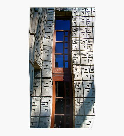 The Millard House. By Frank Lloyd Wright Poster