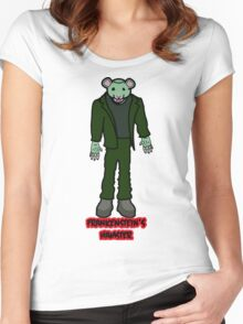 Frankenstein's Hamster Women's Fitted Scoop T-Shirt