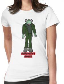 Frankenstein's Hamster Womens Fitted T-Shirt