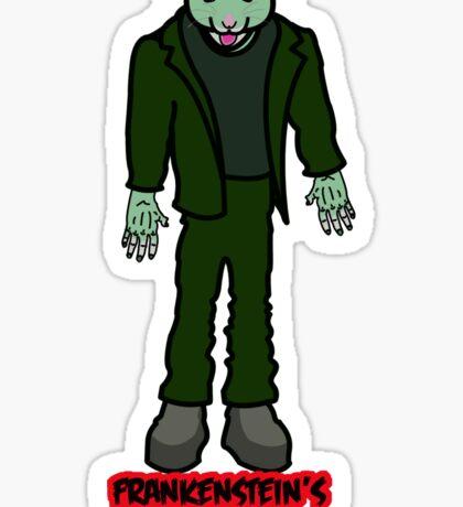 Frankenstein's Hamster Sticker