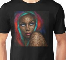 Blue Eyes Wild  Unisex T-Shirt