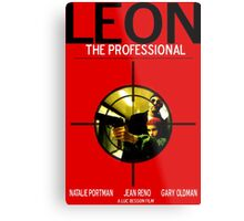 Leon: The Professional Metal Print