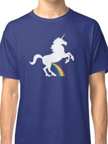 Unicorn Rainbow Pee Classic T-Shirt