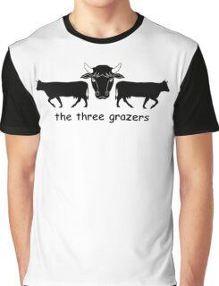 The Three Grazers Graphic T-Shirt