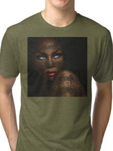Blue Eyes Dark Tri-blend T-Shirt