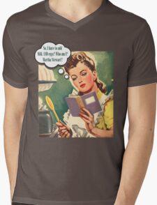Baking Time Mens V-Neck T-Shirt