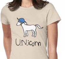U.N. Unicorn Womens Fitted T-Shirt