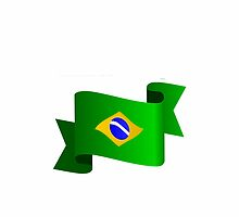 Brazilian flag by daalder
