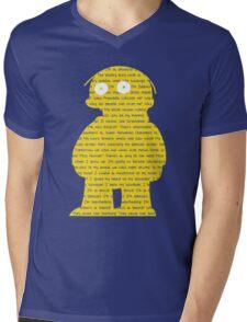 Ralphisms Mens V-Neck T-Shirt