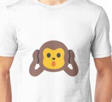hear-no-evil monkey emoji Unisex T-Shirt