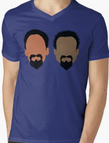 Evil Troy and Evil Abed Mens V-Neck T-Shirt