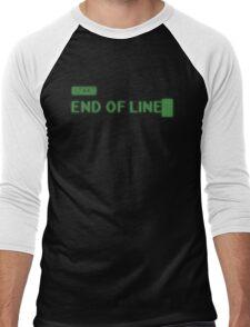 End of Line Men's Baseball ¾ T-Shirt