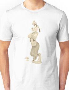 Goofy Sketch Sepia Unisex T-Shirt