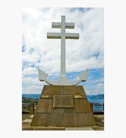 Cross of Lorraine Photographic Print
