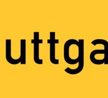 Stuttgart, Germany Road Sign Sticker