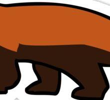 Red Pandicorn (Red Panda Unicorn) Sticker