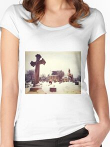 Lambeth Chapel Women's Fitted Scoop T-Shirt