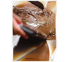 Tempering Chocolate Poster