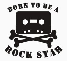 Born To Be A Rock Star Kids Tee