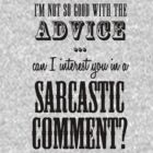 Sarcastic Comment by CoExistance