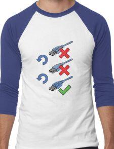 USB positions Men's Baseball ¾ T-Shirt