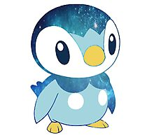Galaxy Piplup Photographic Print