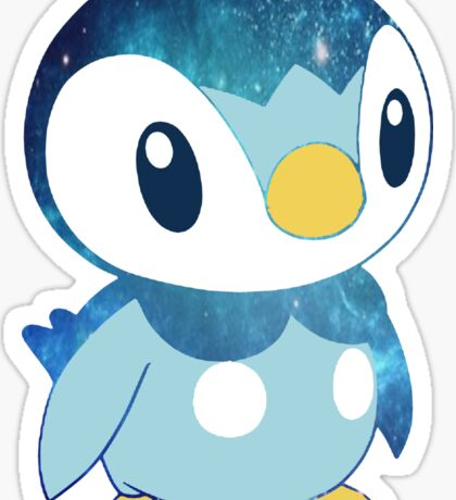 Galaxy Piplup Sticker