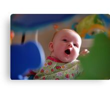 Looking past the toys..... Canvas Print
