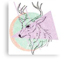 Simplistic Deer Canvas Print