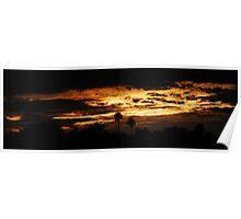 Estero Llano Grande Sunset Poster