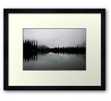 Morning Gloom Framed Print