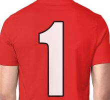 Football, Soccer, 1, One, Number One, First, Team, Number, Red, Devils Unisex T-Shirt