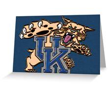 UK Wildcat Greeting Card