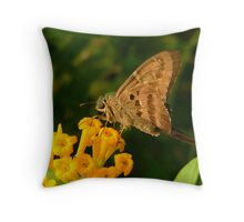Longtail. Throw Pillow