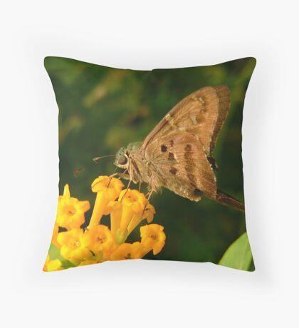 Longtail. Throw Pillow