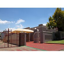 Middle Class House in Soweto Photographic Print