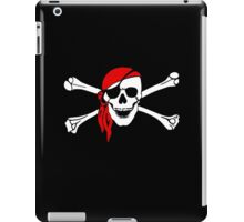 Pirate Party, Pirate, Cap, Skull & Crossbones, Jolly Roger iPad Case/Skin