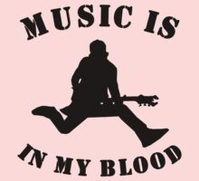 Music Is In My Blood Baby Tee