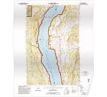 USGS Topo Map Washington State WA Rice 243438 1992 24000 Poster