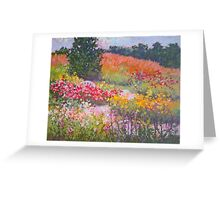 Rose path Greeting Card