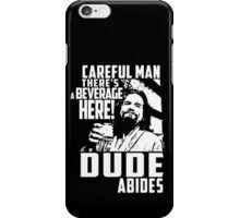 Big Lebowski - Dude Abides iPhone Case/Skin