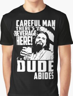 Big Lebowski - Dude Abides Graphic T-Shirt