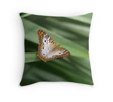 White Peacock. Throw Pillow