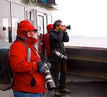 Photographers at work, Ketchikan, Alaska. by johnrf
