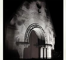 Midnight church by kimblackman