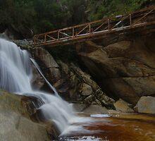 Fresh water from the falls by Kenji Ashman