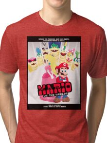 Mario Vs. The Worlds Tri-blend T-Shirt